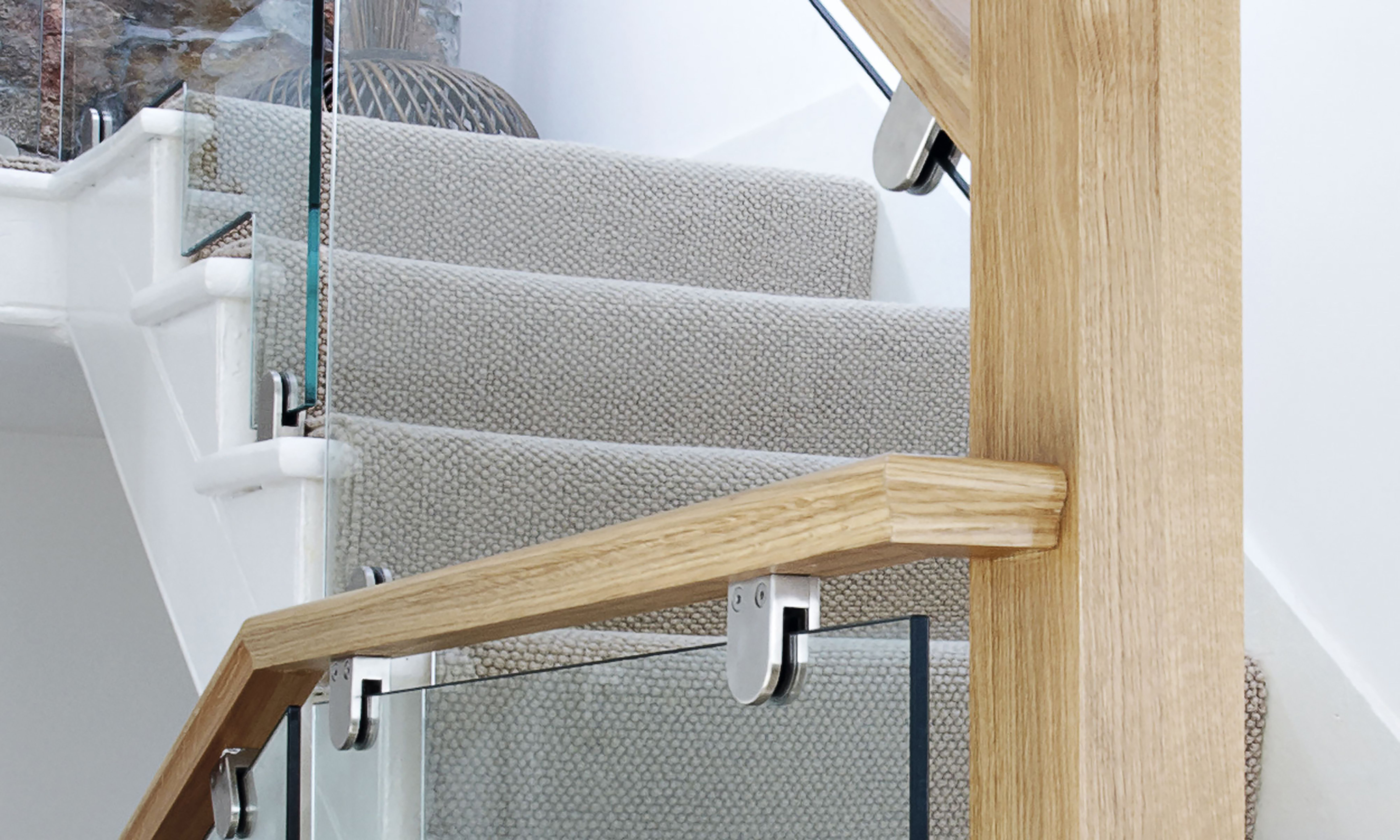 Best Oak Glass Staircase Glass Staircase Staircase Bespoke 640 x 480