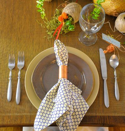 Pipes to Place Setting < Hardware Store Centerpiece - MyHomeIdeas ...