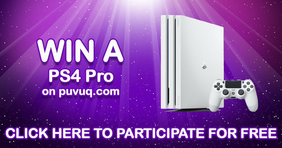Enter for free for a chance to win a ps4pro good luck