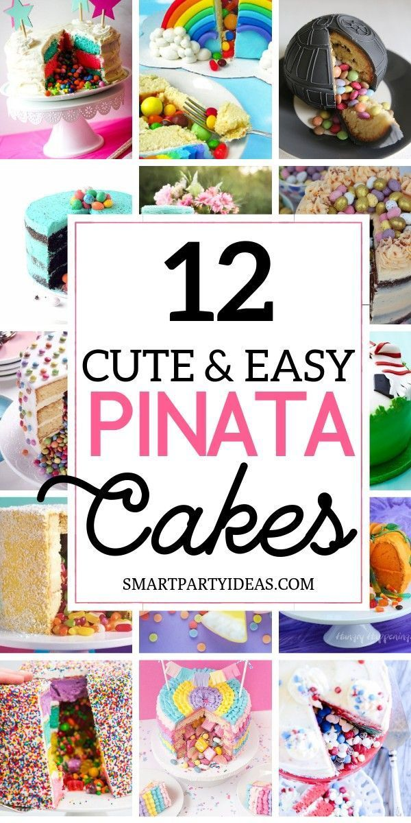 Photo of 12 Clever Surprise Pinata Cakes –  12 Clever Surprise Pinata Cakes Here are 12 g…