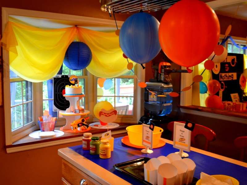 Baby Shower Cake Decorations Target Best Of Nerf Birthday Party Ideas Photo  3 Of 62 Catch