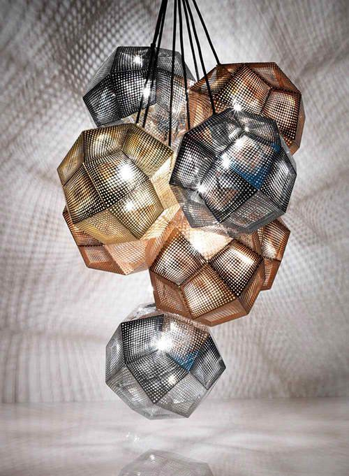 Copper And Stainless Steel Shade Pendants By Tom Dixon Tom Dixon Modern Lamp Shades Stainless Steel Pendant Lamp