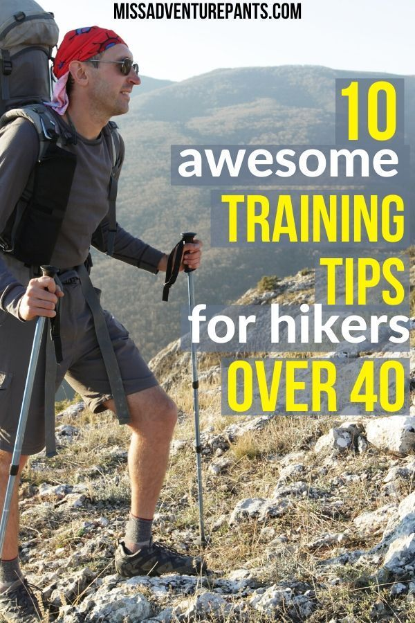 Photo of training tips for hikers over 40