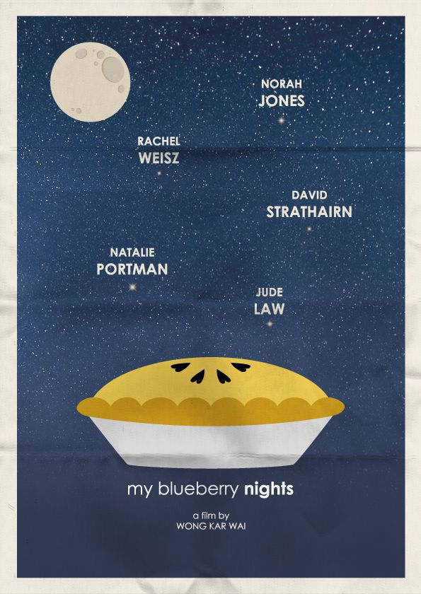 My Blueberry Nights | poster | Pinterest | Night and Blueberries
