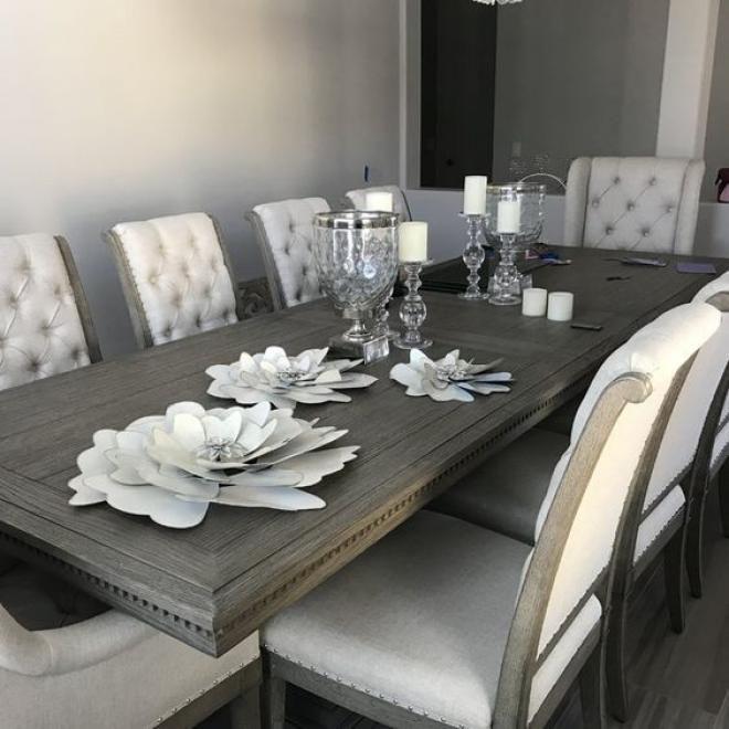 Interesting Modern Gray Dining Room Ideas in 2020 | Dining ...