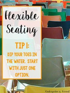 Figuring out a classroom design with flexible seating can be tricky, but, flexible seating in the primary classroom works wonders! My kindergarten students love wobble chairs! Check out my first tip for transforming a classroom into a 21st century classroom.