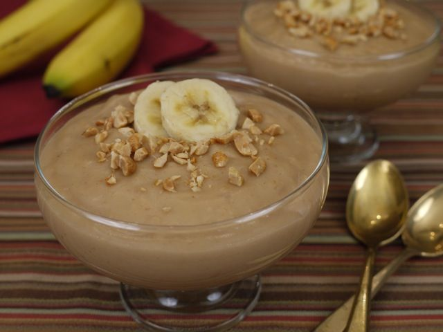 Peanut Butter and Banana Pudding