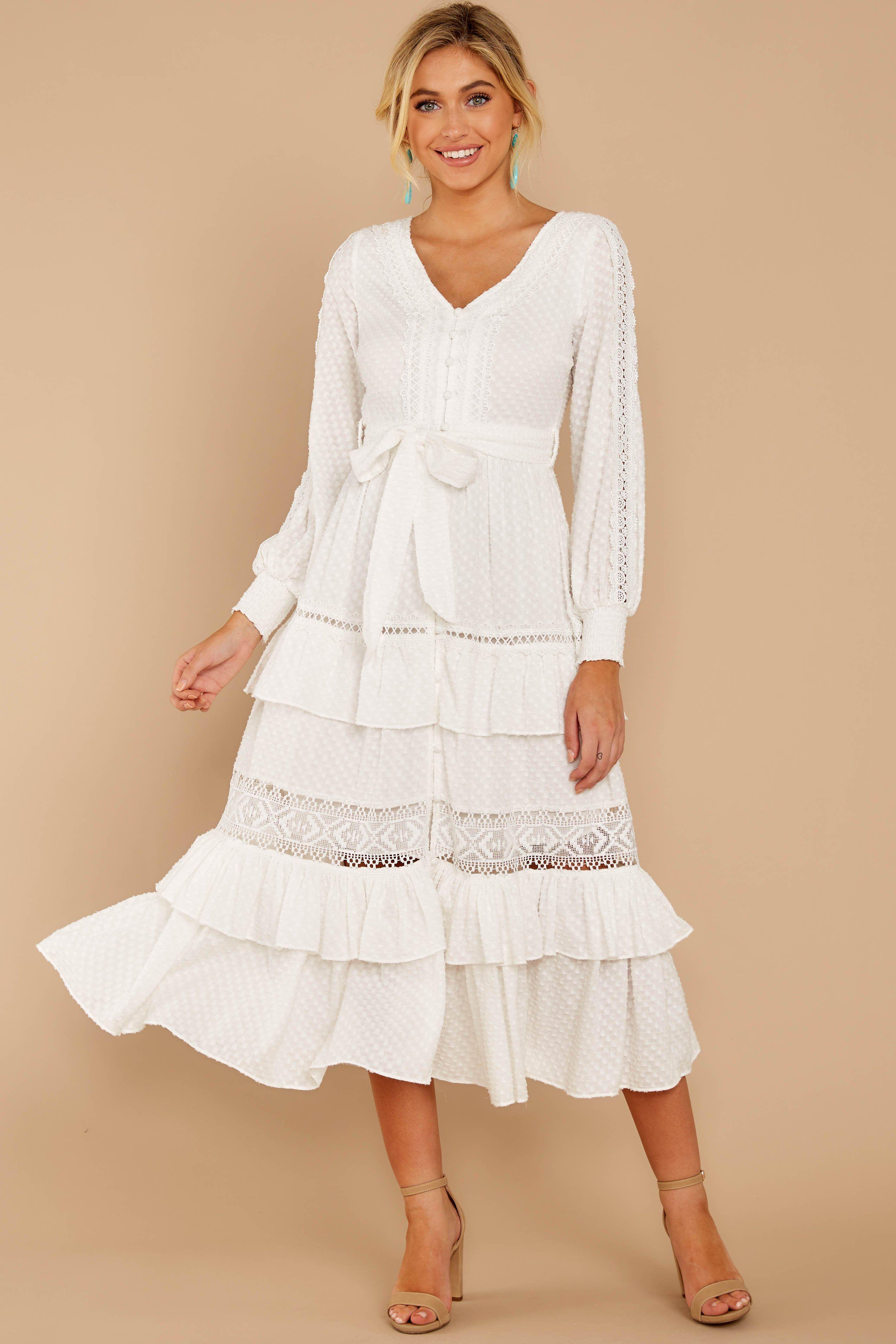 One Day Soon White Lace Midi Dress White Lace Maxi Dress Dresses White Lace Midi Dress [ 4243 x 2829 Pixel ]