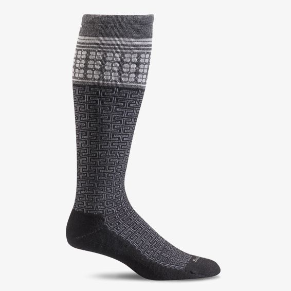 Sockwell Graduated Compression T Ceremony in Black