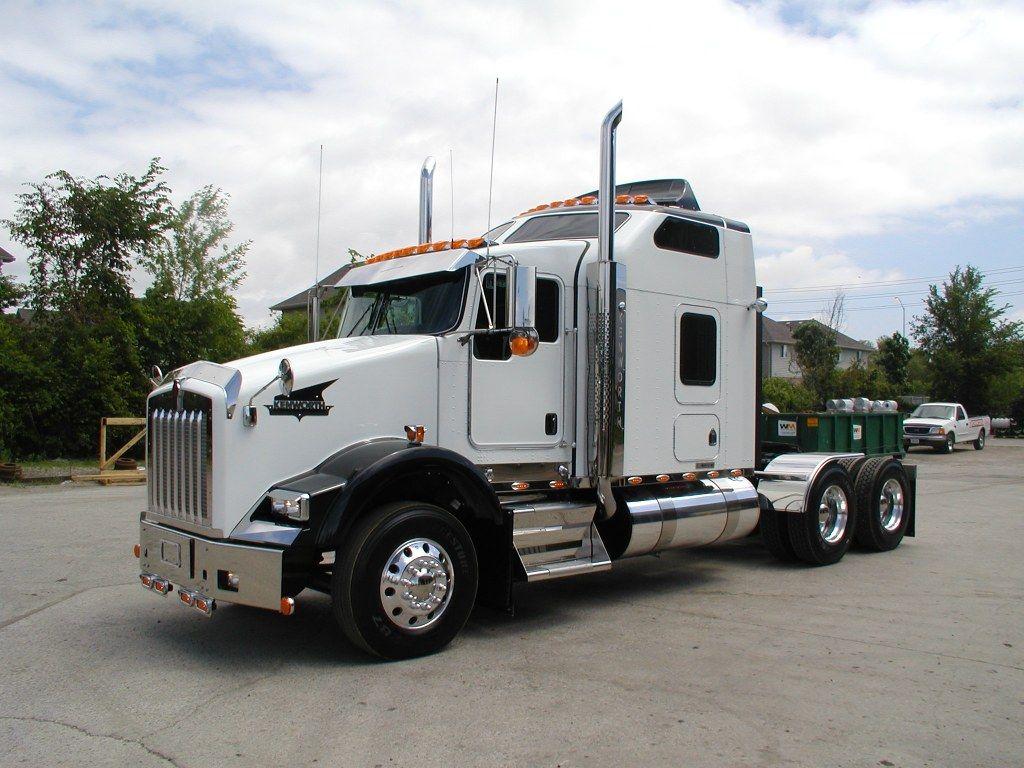 Kenworth T800 Heavyhauling With Images Kenworth Trucks Big