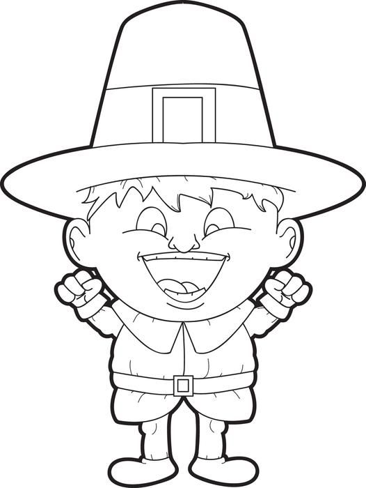 Free Printable Pilgrim Coloring Pages For Kids Coloring Pages 3