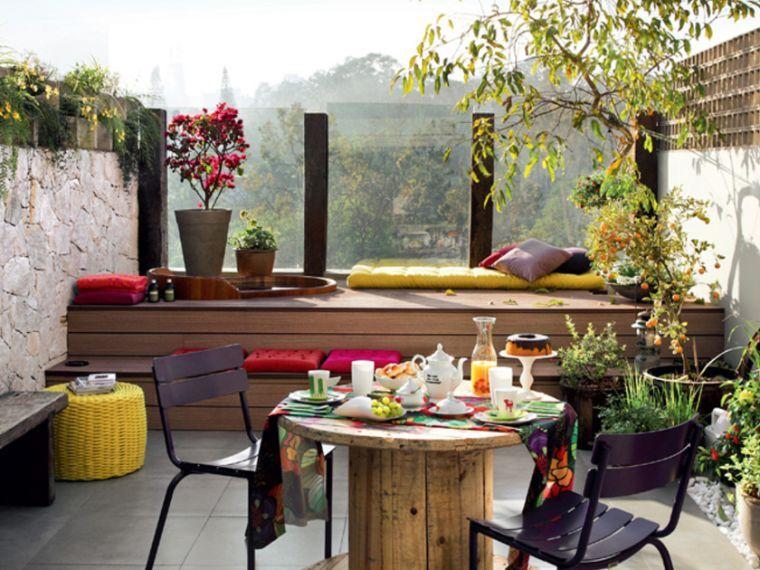 Déco extérieur - idées d\'aménagement petite terrasse | Green ...