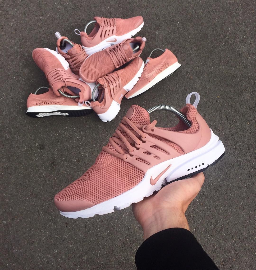 promo code 2ecca 5e30b Air Presto STONE PINK (custom) Shoes Sneakers, Nike Shoes, Shoes Heels,