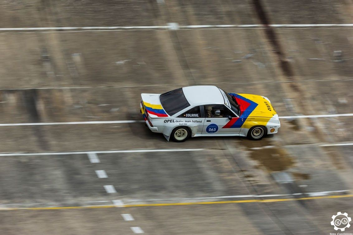 Image illustrative de l article opel ascona -  Opel Manta 400 Aux Grandes Heures Automobiles Montlh Ry Reportage Complet