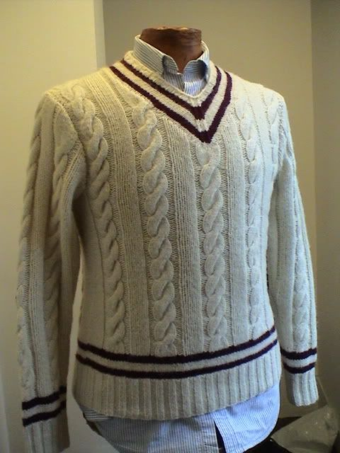 Fs Nwt Polo Wool Cream Burgundy Cable Knit Cricket Sweater W Elbow Patches Small Mens Cable Knit Sweater Sweaters Sweater Fashion