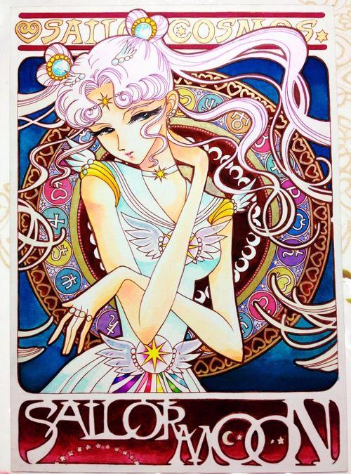 Sailor Moon Cosmos Art Nouveau