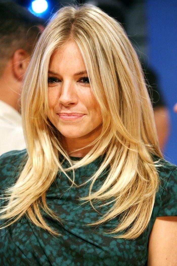 blonde frisuren lang