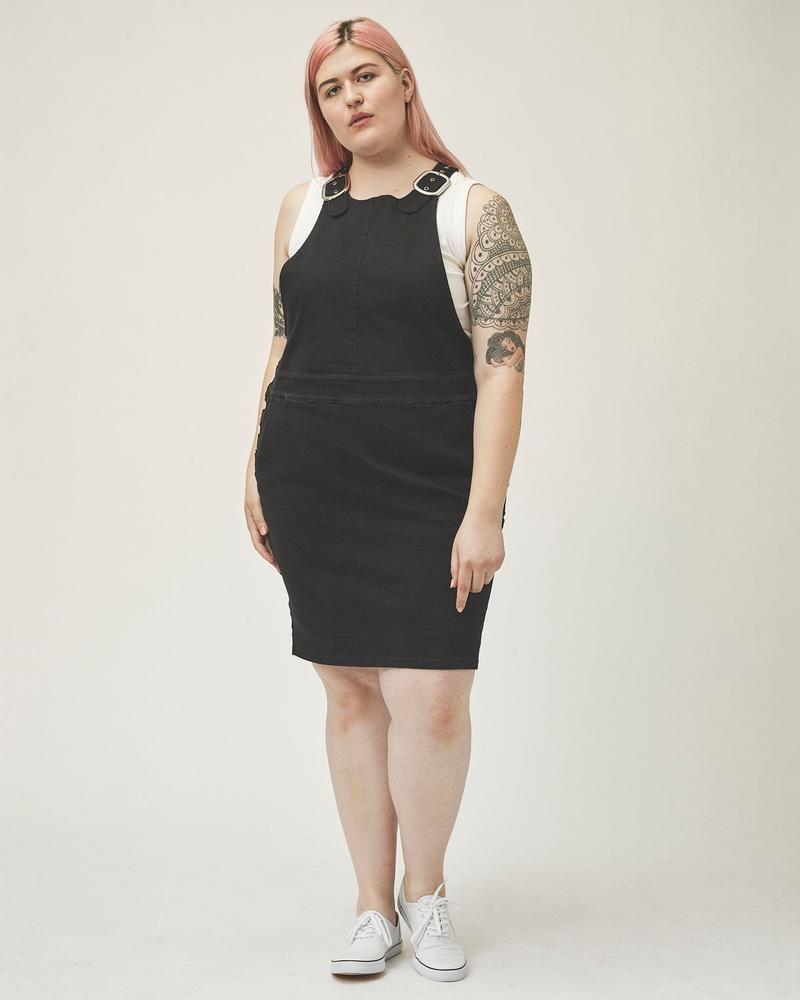 17ec9ea39cb Overall Skirt - Black Overall Skirt