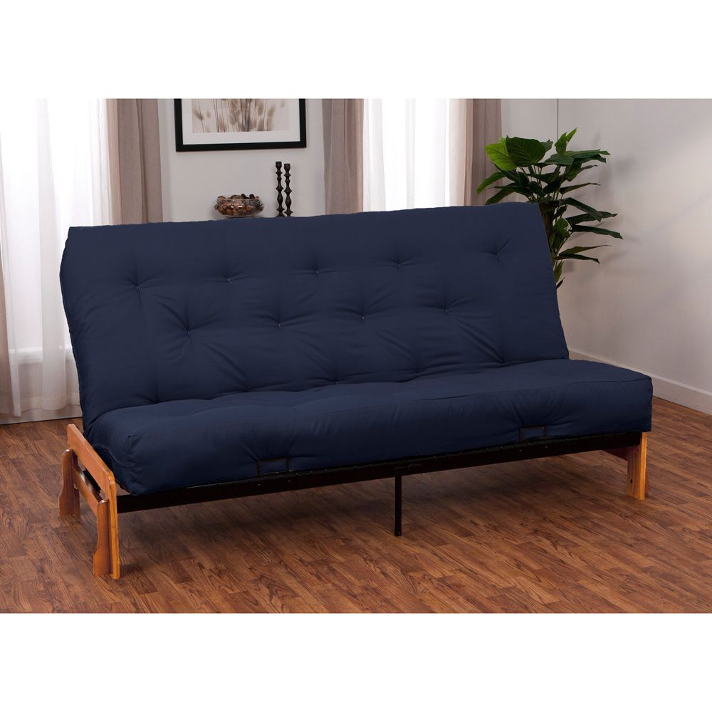 epicfurnishings boston queen armless futon frame premier mattress