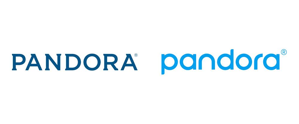 New Logo And Identity For Pandora Identity Logo Logo Branding Logos
