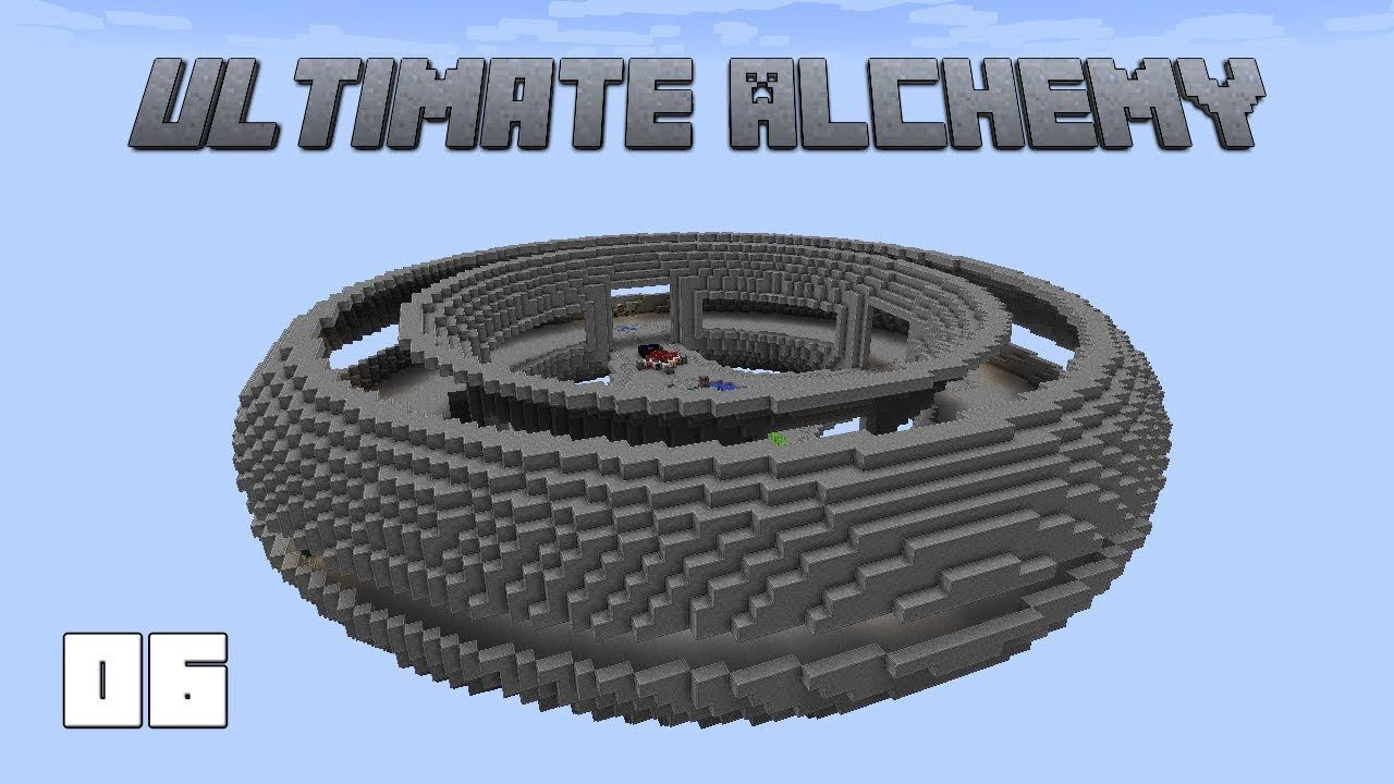 Ultimate Alchemy EP6 Ender Pearl And Blaze Powder Automation