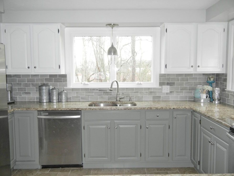 Best 14 Times White Kitchen Cabinets Transformed A Space Gray 400 x 300