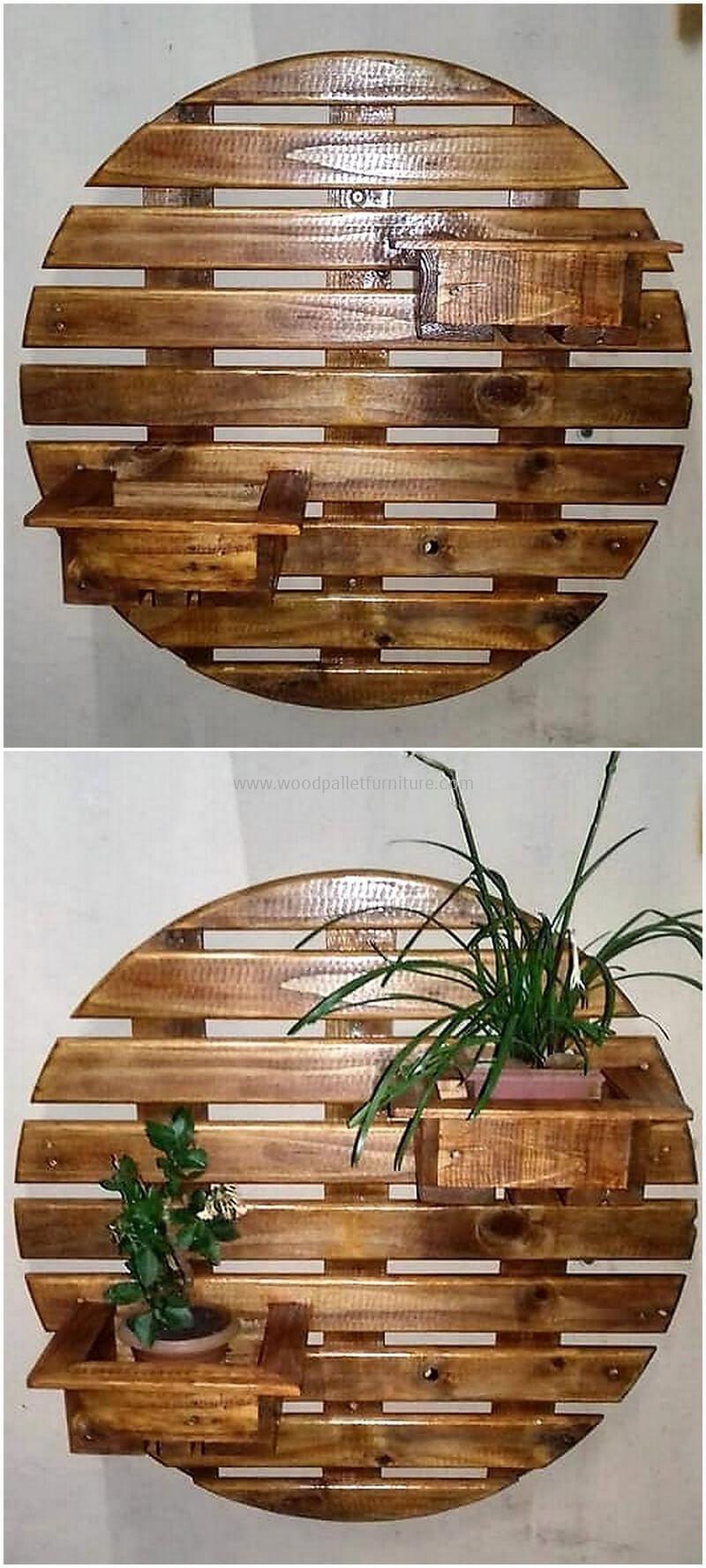 Pallet wall planters designs baú de idéias pinterest pallets