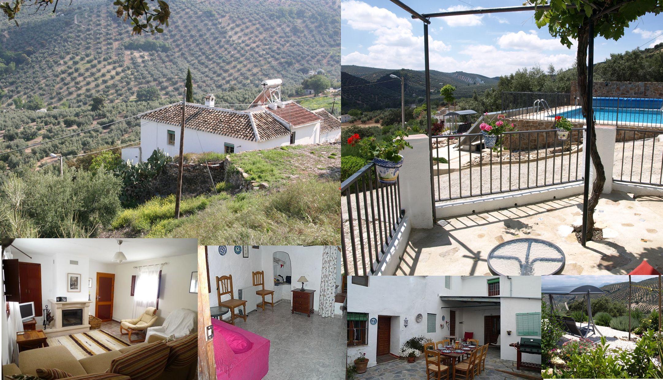 Landhuis tussen Málaga en Córdoba in. Prachtig uitzicht, rust, natuur en comfort. Met zwembad. Ideaal voor een ouders en voor kinderen: een ontspanvakantie én mogelijkheden te over voor een excursie naar één van deze twee prachtige steden.  Lastminute aanbieding op deze woning geldt v.a. 19 mei 2013. Wees er snel bij!  Website en code 4547: http://www.vakantiehuizenspanje.nl/4547 #andalusië #vakantiehuis #natuur #opvakantiemetgezin