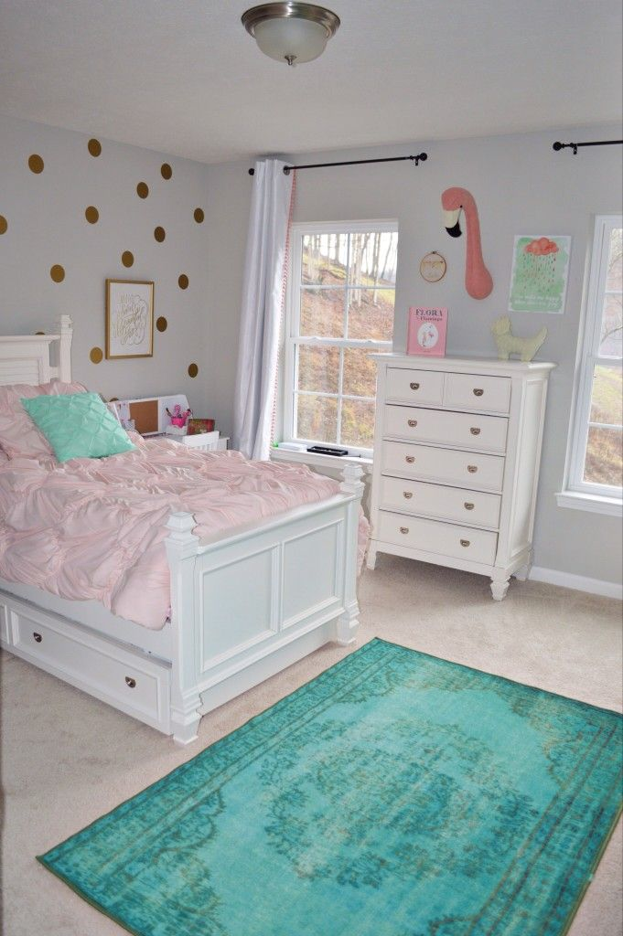 Monochrome Nursery & Girly Girl Room Tours Featuring Rugs