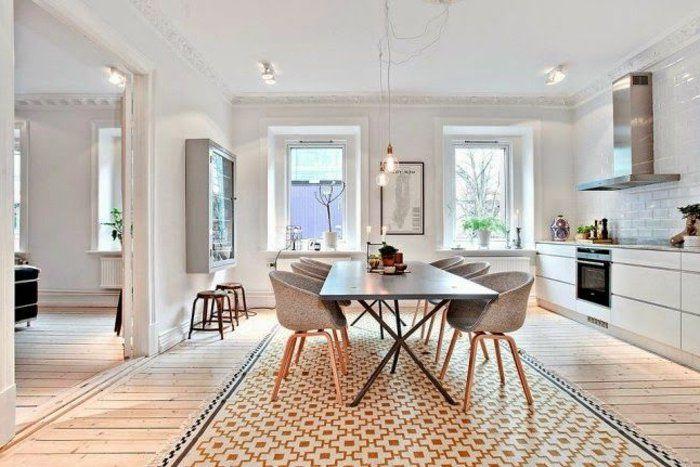 Quelques exemples de joli aménagement de cuisine ouverte - salon sejour cuisine ouverte