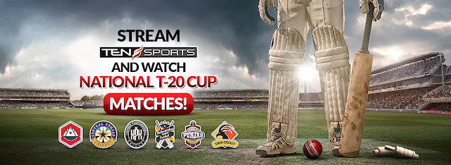 Watch Ten Sports Live only on Mjunoon.tv Sporting live