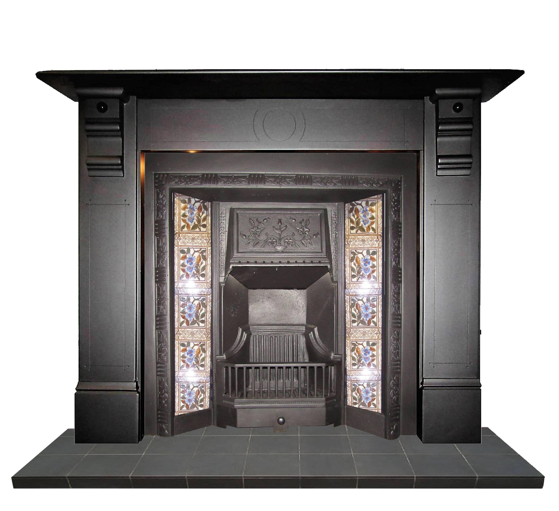Slate Antique Fireplace Surround Slate Antiqueslate Slatefireplace Antiquefireplaces Sale Homedesign Home In 2020 Edwardian Fireplace Fireplace Locker Storage