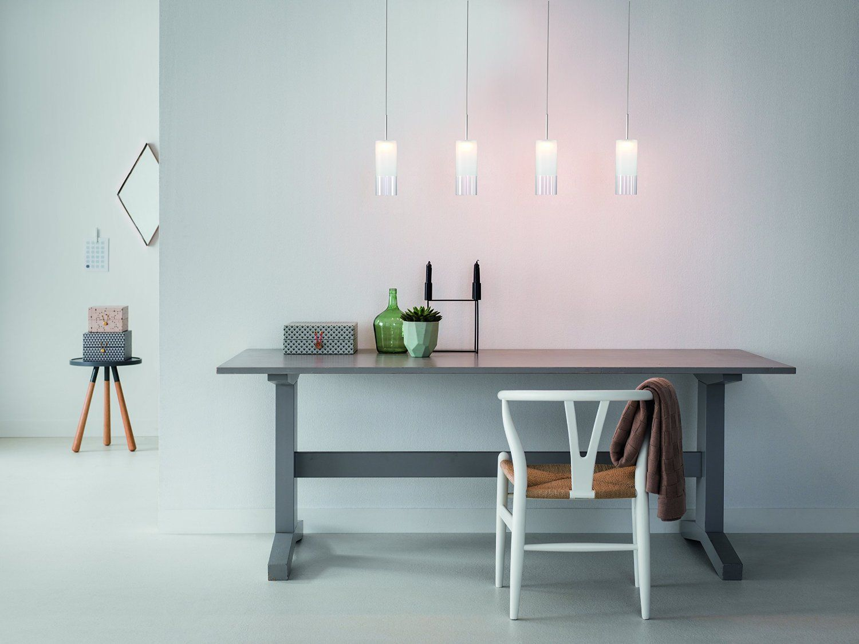 Philips Suspension LED Aluminium Forfar Luminaire d intérieur