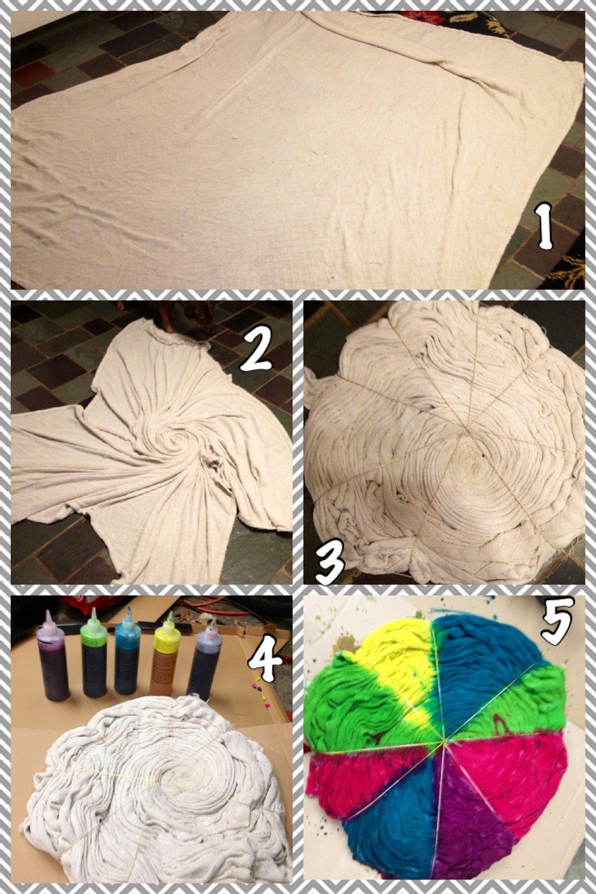 Tie dye blanket steps  f1d08d505
