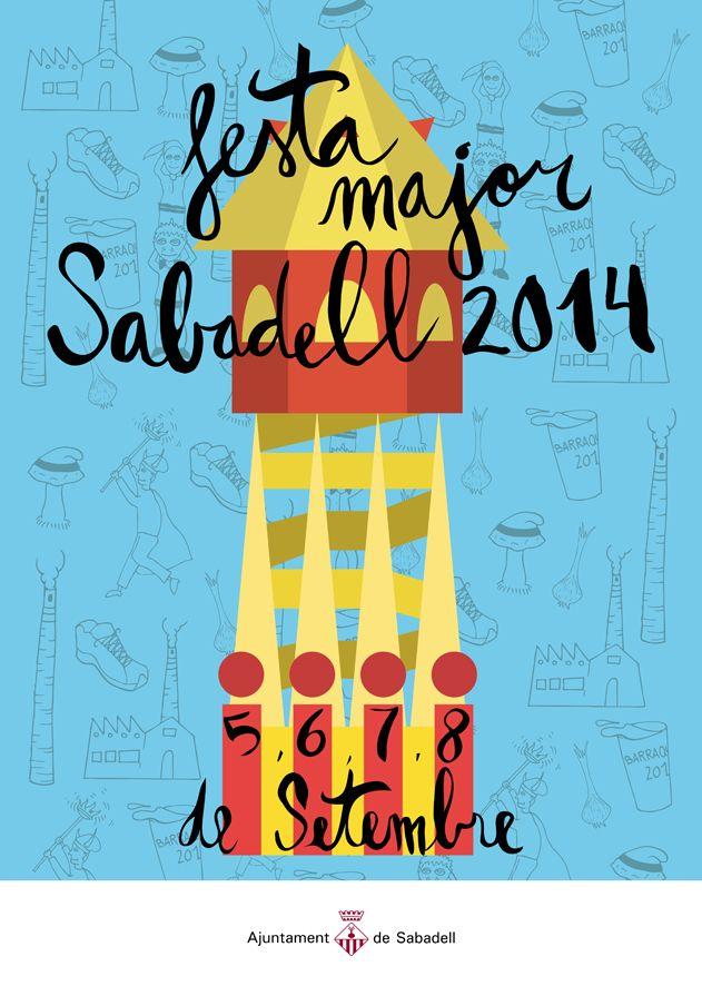 Resultado de imagen de cartel festa sabadell 2014