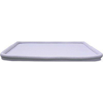 Secure Beginnings Heaven Sent Breathable Crib Mattress Sleep Surface, Aqua Blue, Standard