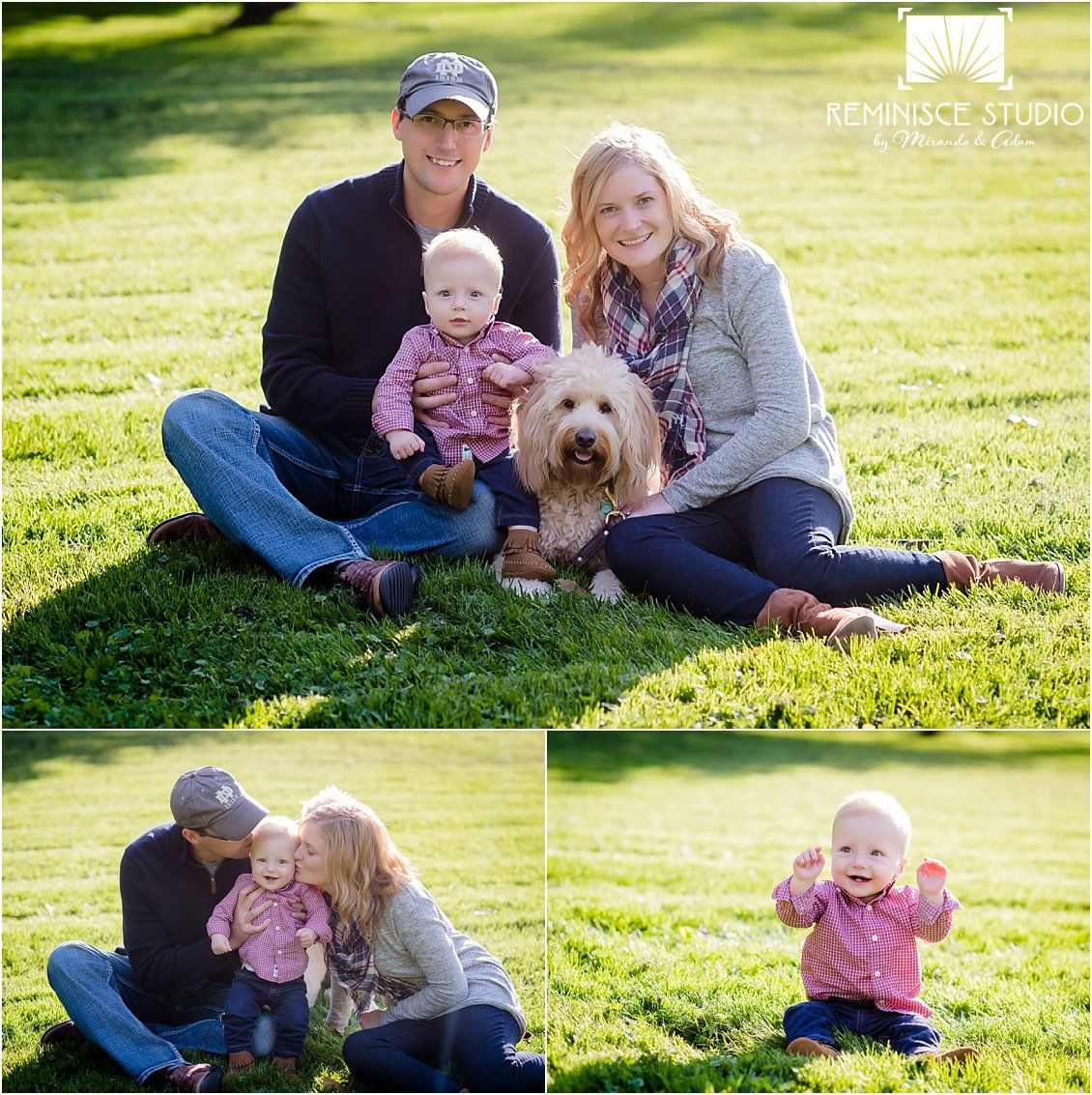 Family Session Wardrobe Inspiration: Mix colors, shades, textures ...