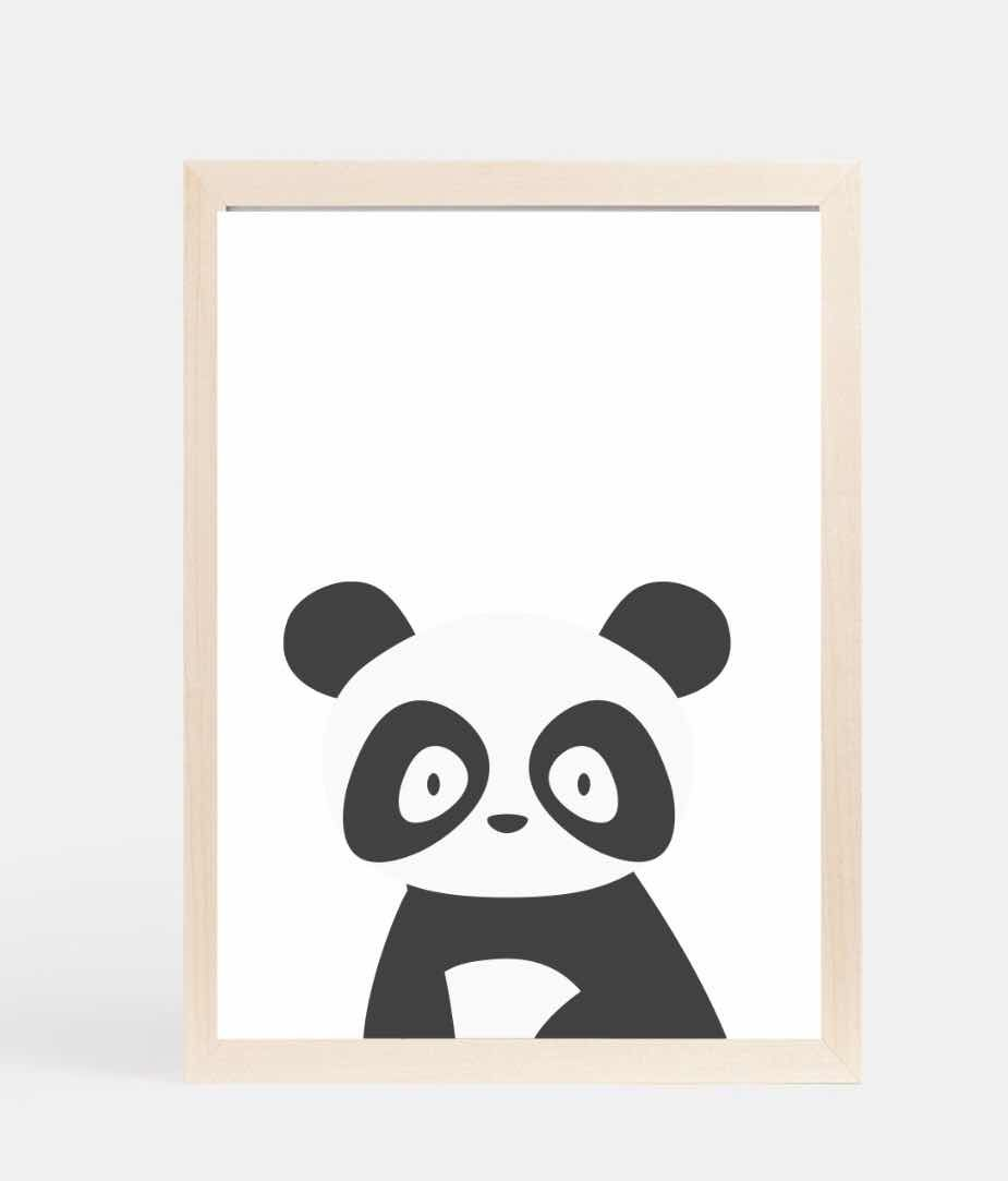 Collective Staple Panda Print Poster The Casual Snap Pinterest
