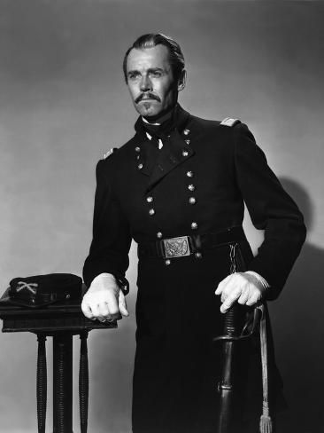 size: 32x24in Photo: FORT APACHE, 1948 directed by JOHN FORD Henry Fonda (b/w photo) :