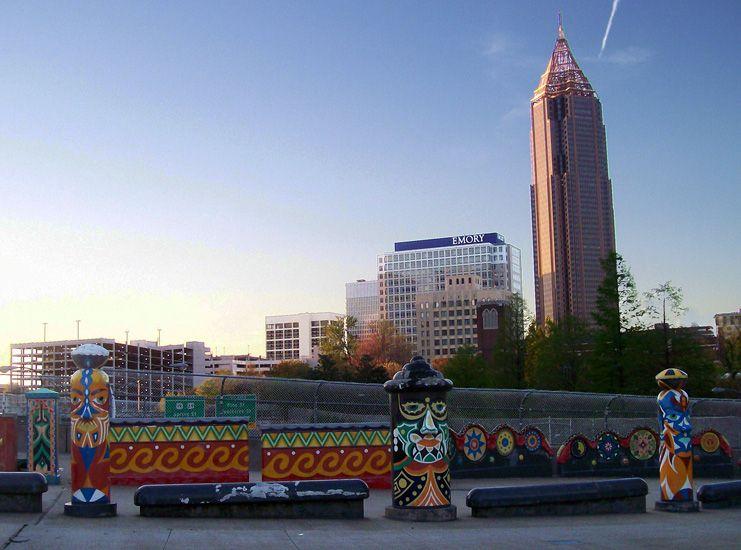 Downtown atlantas folk art park will be reborn this week