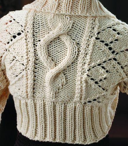 f26838f0b Ravelry  Bulky Shrug  4067 pattern by Mary Maxim