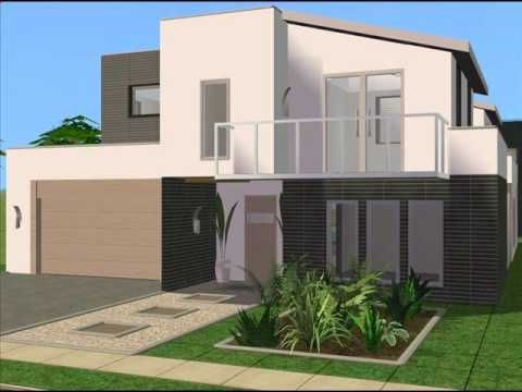 The Sims 2 Modern House Design Sims House Plans Sims House Sims 2 House