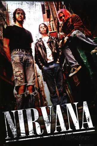 Nirvana - Alley Poster (24x36)