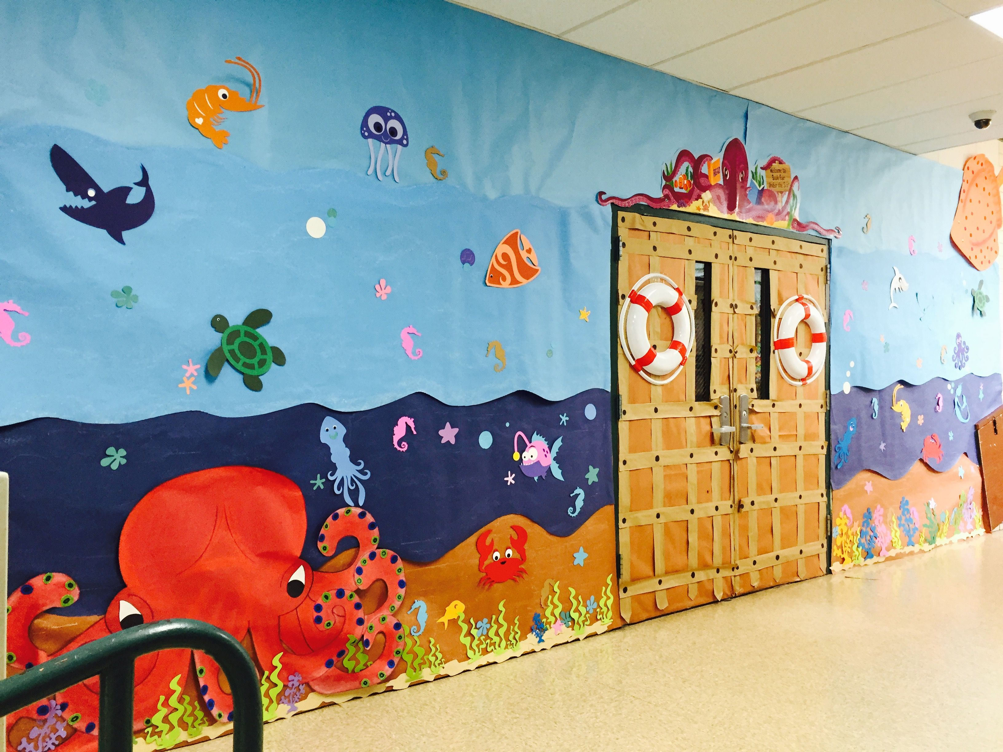 Our Under The Sea Scholastic Bookfair With Images Ocean Theme