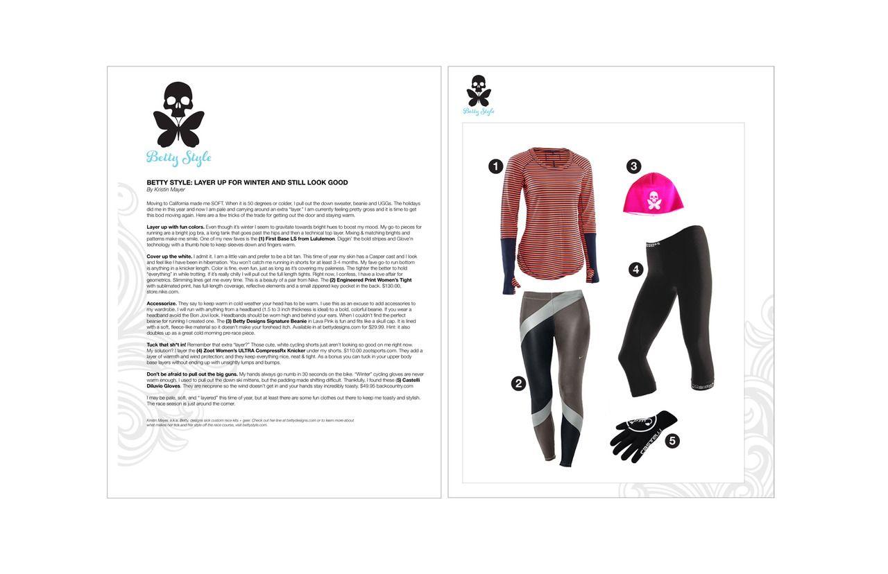 Style column #2 published on LAVA. January 24, 2012