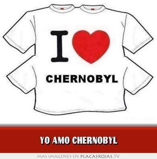 yo amo chernobyl  en Placas Rojas TV