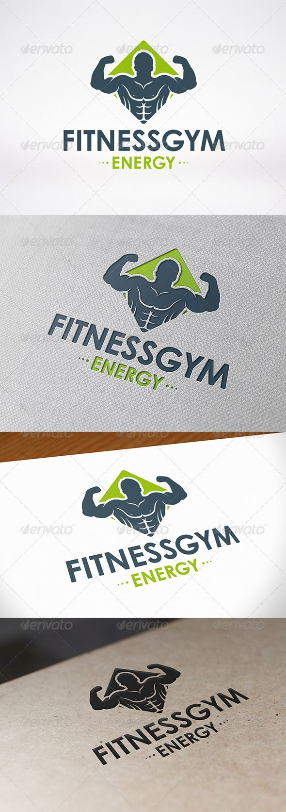 Fitness Gym Logo Template .This image is available on