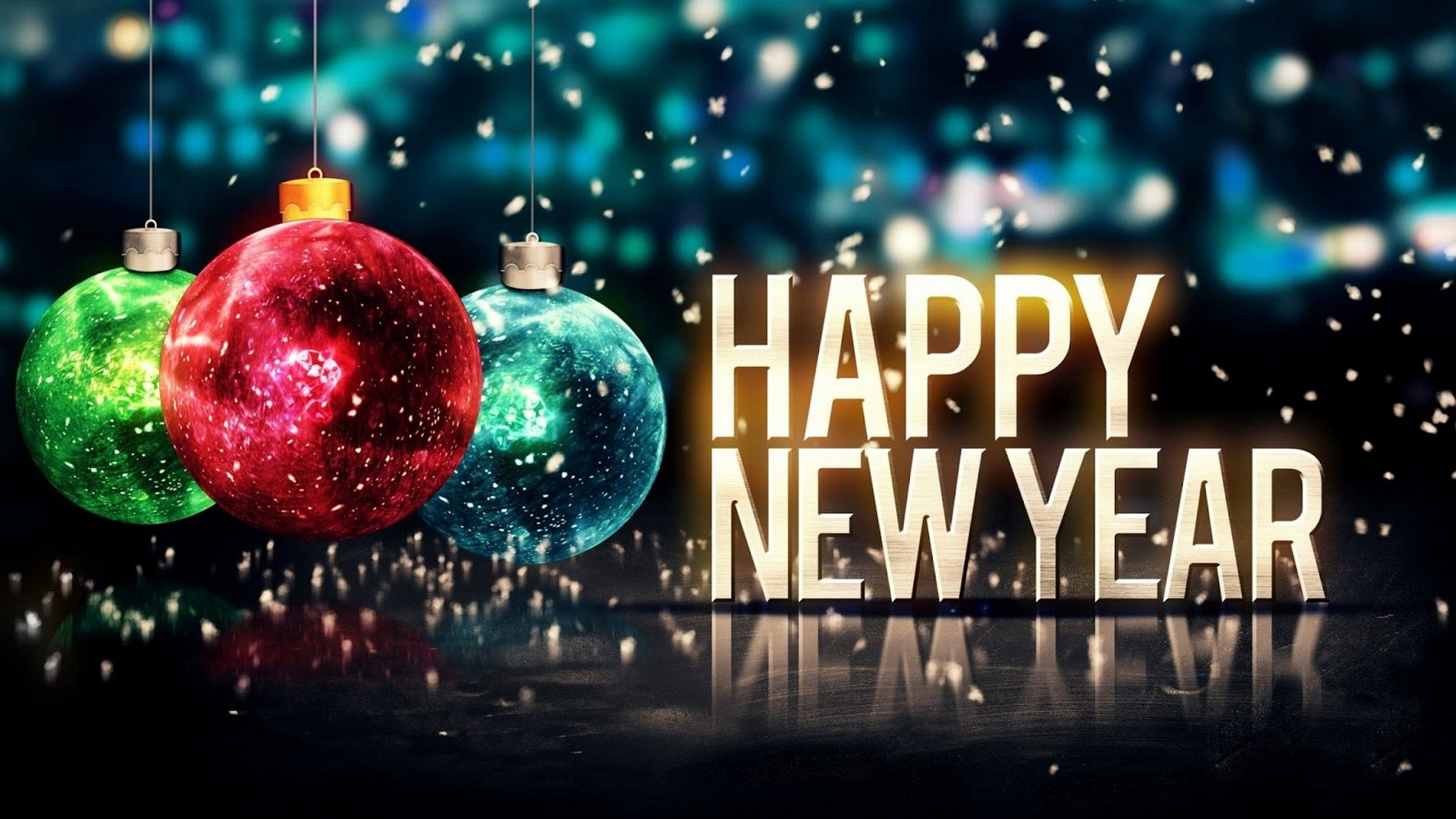 Good Happy New Year Ornament 2018 Wallpaper   2018 Wallpapers HD