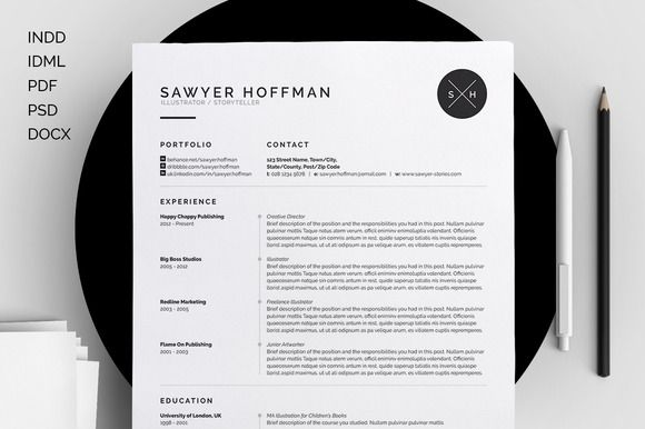 17 Best Images About Resume On Pinterest | Cool Resumes, Cleanses