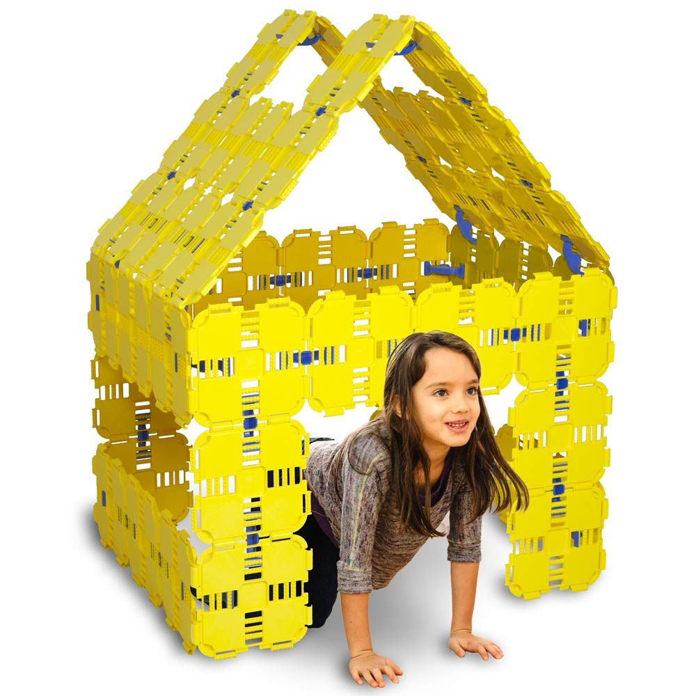 Prime Pack (Yellow Kids building toys, Fort building kit